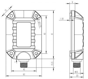 SST20 Dimensions
